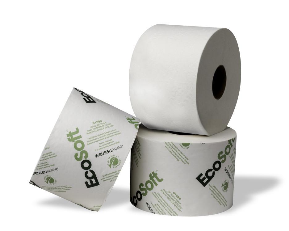 Ecosoft 61990 Tissue Opticore Green Seal 2ply 36 Rolls